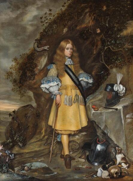 Герард Терборх, Памятный портрет Мозеса Терборха (1645-1667), 1667, 76х57 см, Rijksmuseum, Амстердам, Нидерланды