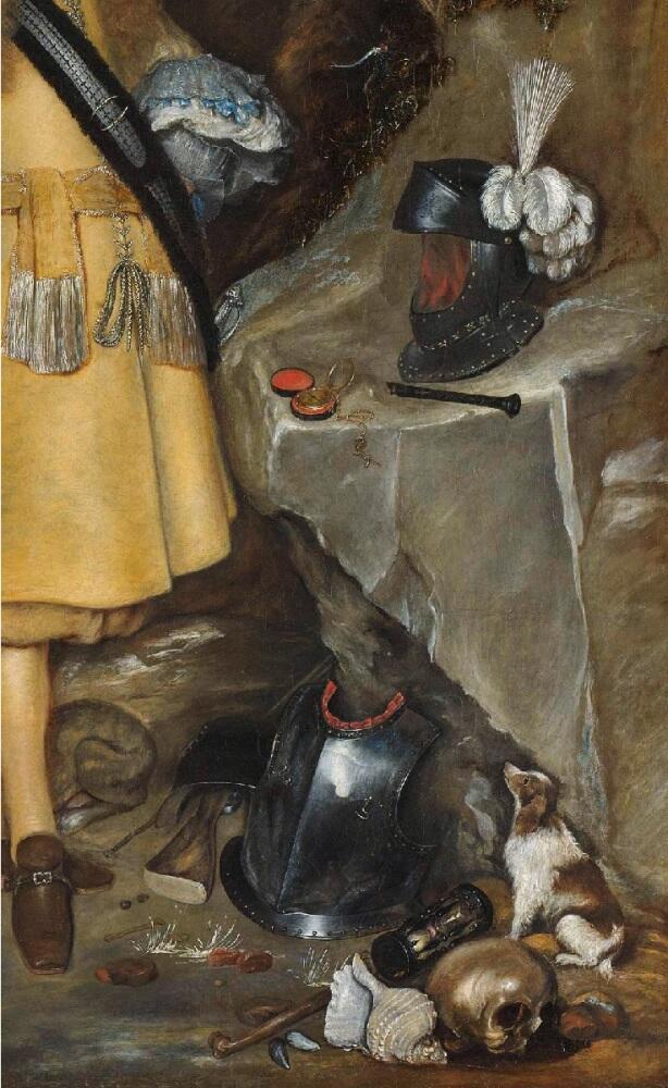 Герард Терборх, Памятный портрет Мозеса Терборха (1645-1667),   фрагмент