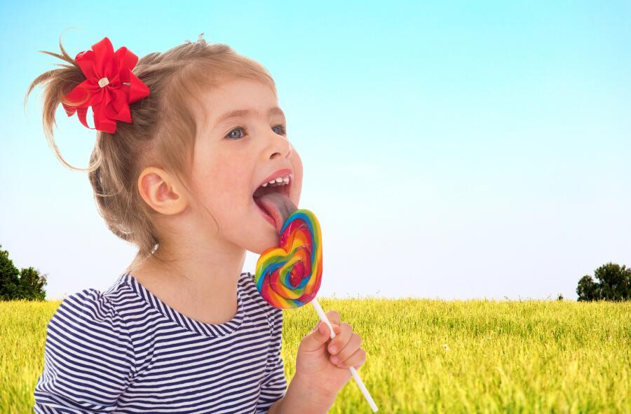 Дети любят сладкое
