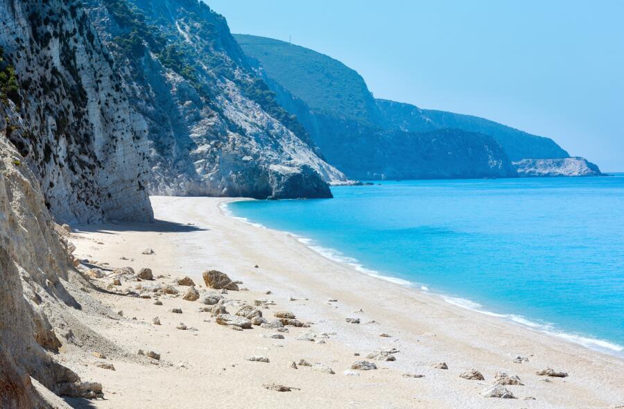 Эгремни - красивейший пляж Лефкады