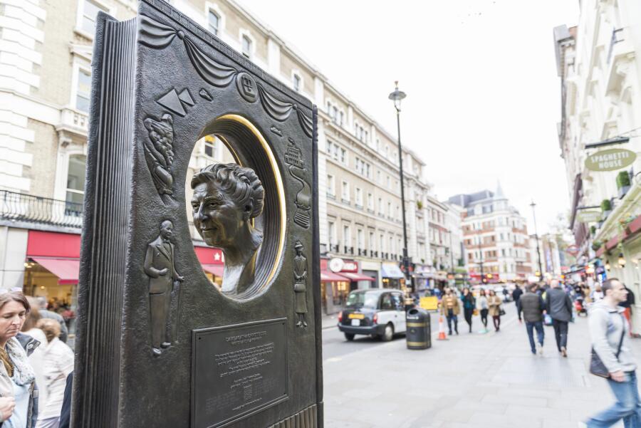 Мемориал Агаты Кристи в Лондоне