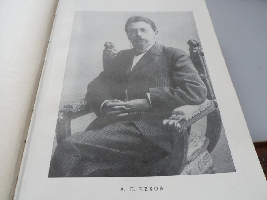 Портрет А. П. Чехова