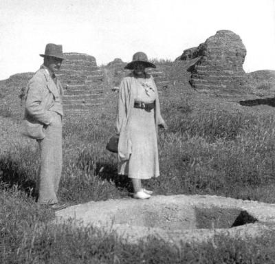Макс Маллоуэн и Агата Кристи в Телль-Халафе (Сирия)