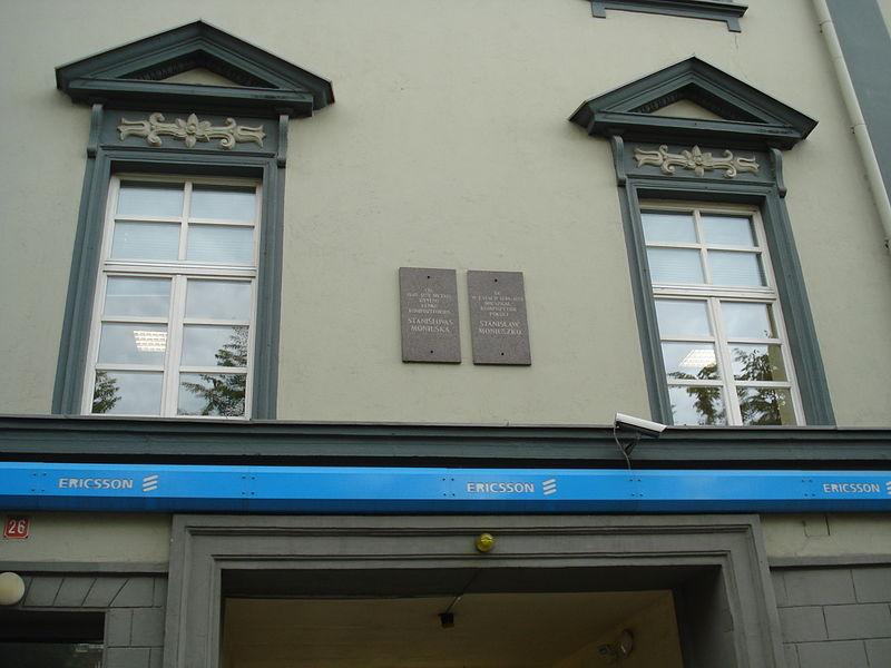 Дом Мюллера, в котором жил Монюшко (1840—1858)