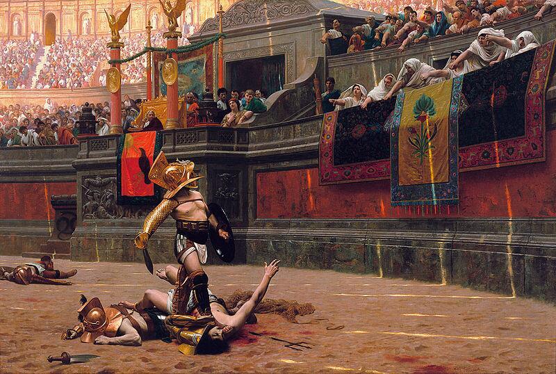 Жан-Леон Жером, «Гладиаторы»