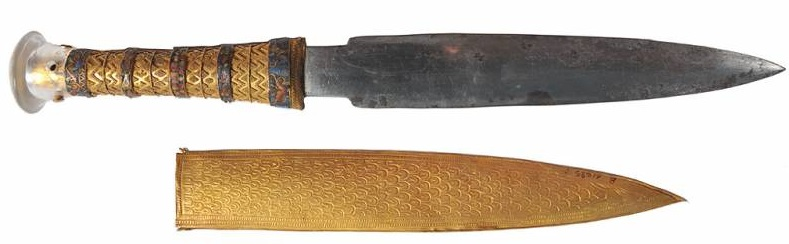 Кинжал фараона Тутанхамона