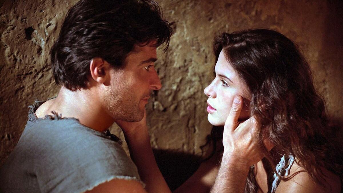 Спартак и Вариния, кадр из фильма «Спартак», 2004г.