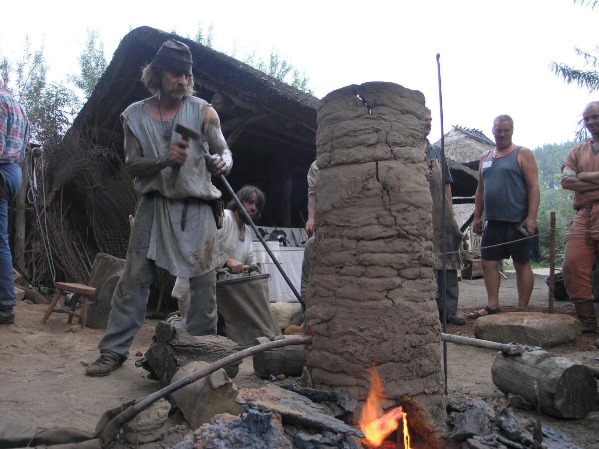 Сыродутная печь