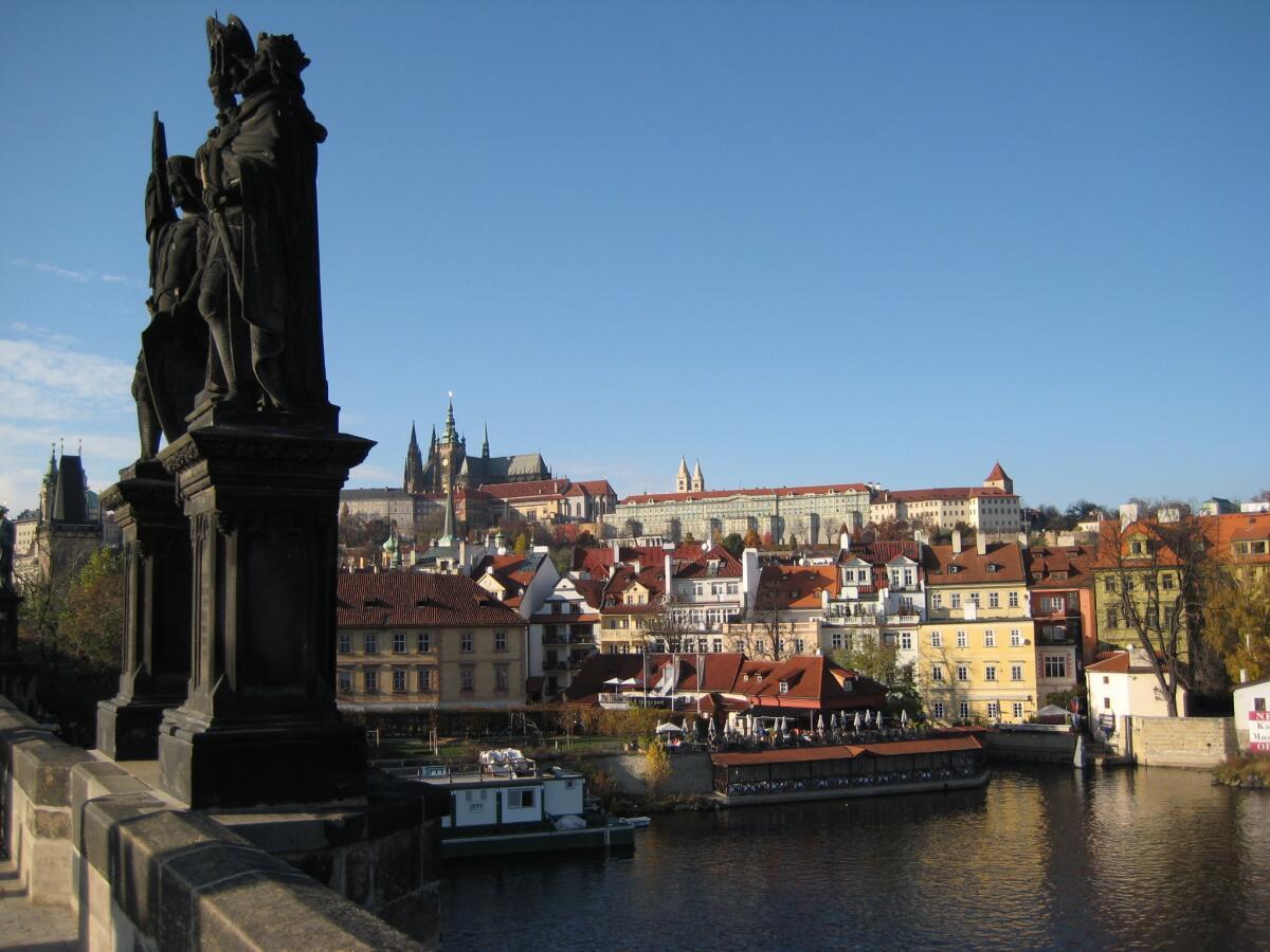 Карлов мост и Влтава