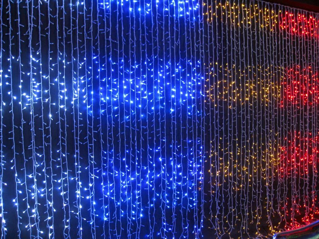 Новогодние украшения. Что такое световой дождь?