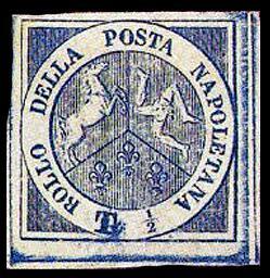 Марка Неаполя, 1860 г.