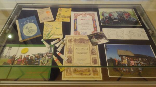 Книги, оформленные Н. Григорьевой, её дипломы