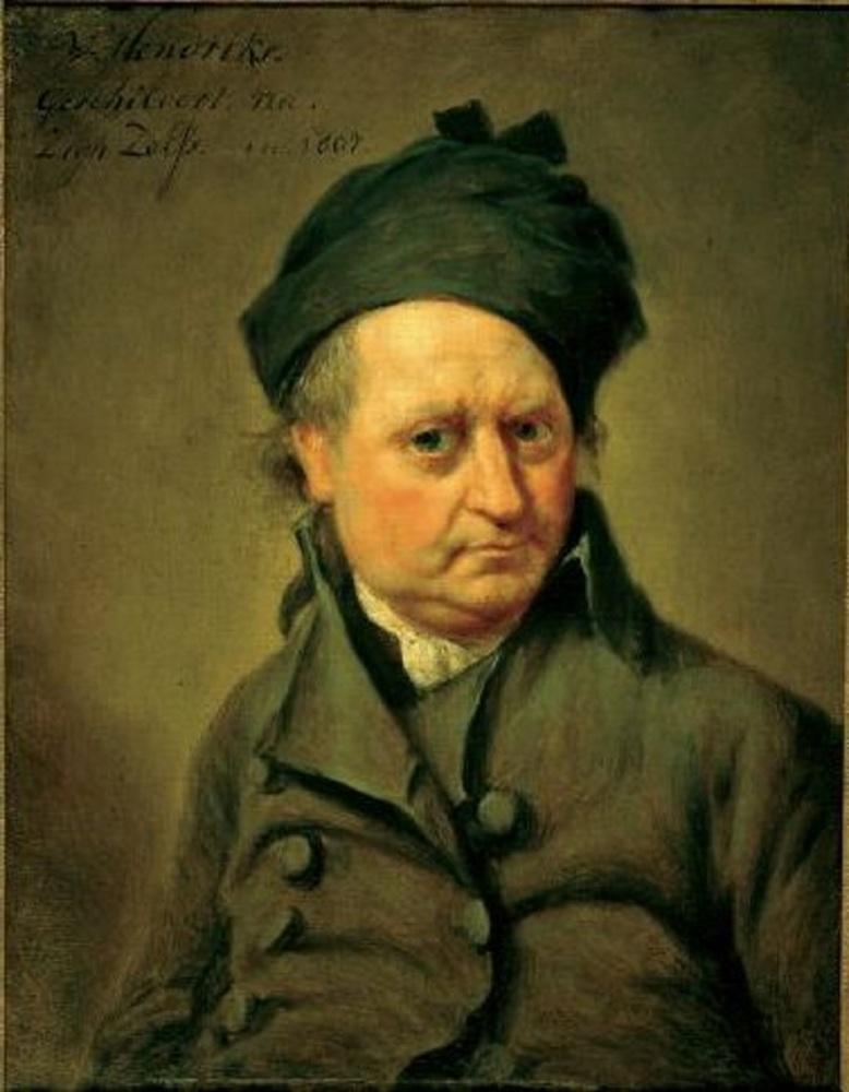 Вайбренд Хендрикс, автопортрет, 1807,  музей Франса Хальса, Харлем, Нидерланды