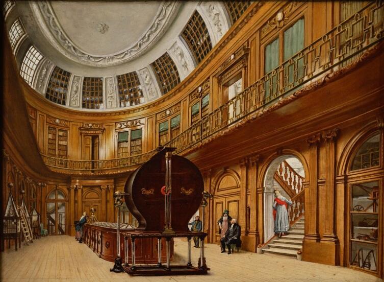 Вайнбренд Хендрикс, Овальная комната музея Тейлера,1800, музей Тейлера, Харлем, Нидерланды