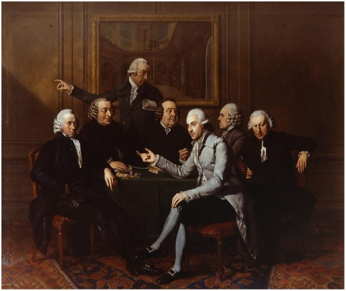 Вайбренд Хендрикс, Правление фонда Тейлера, 1786, музей Тейлера, Харлем, Нидерланды