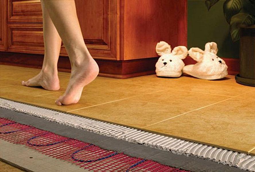 Как выбрать и установить тёплый пол в квартире?