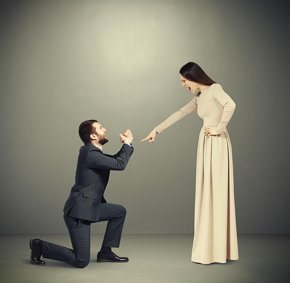 Чего нельзя прощать мужчине?