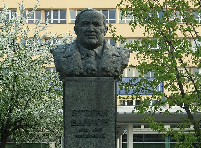 Памятник Стефану Банаху в Кракове