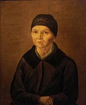 Арина Родионовна. Портрет работы неизвестного художника