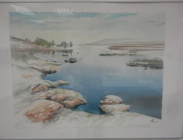 На пути к озеру Хар Нуур, Монголия. Олег Ширинкин (р. 1953 г., С.-Петербург)