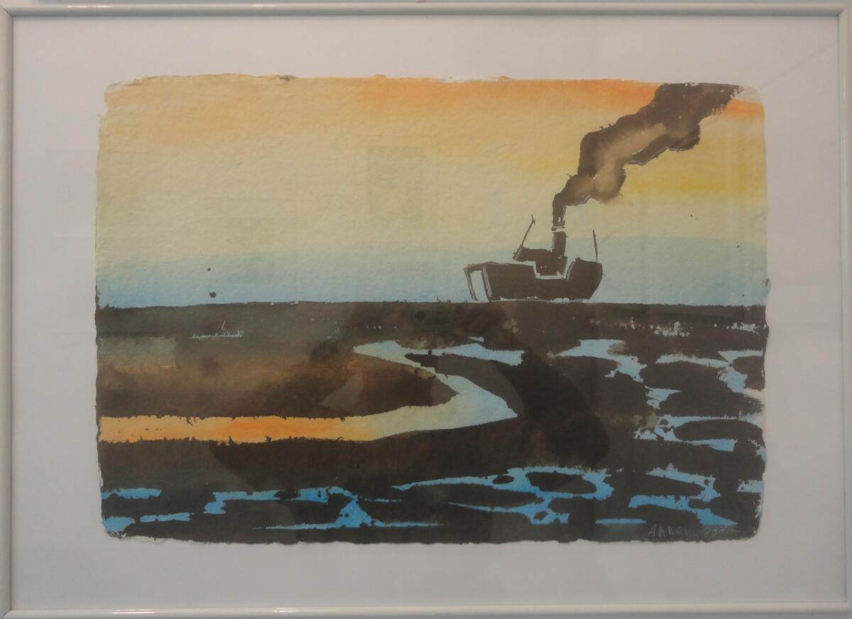 Балтийское море VI. Йохем Ахман (р. 1957 г., Бохум, Германия)