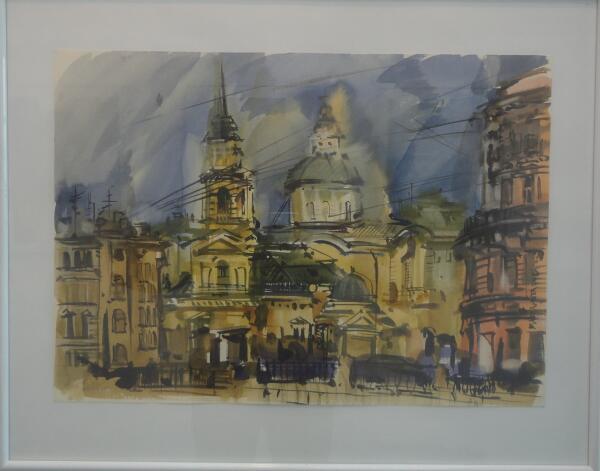 Солнечный Петербург. Маргарита Скорбач (р. 1973 г., Белгород)