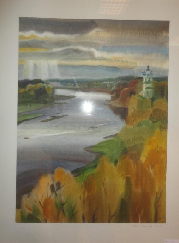 Луч света в Тотемском царстве. Ю. М. Коросова (Петрозаводск)