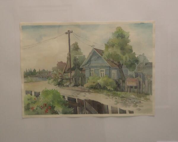 Дачный домик. А. Набиренков (Петрозаводск)