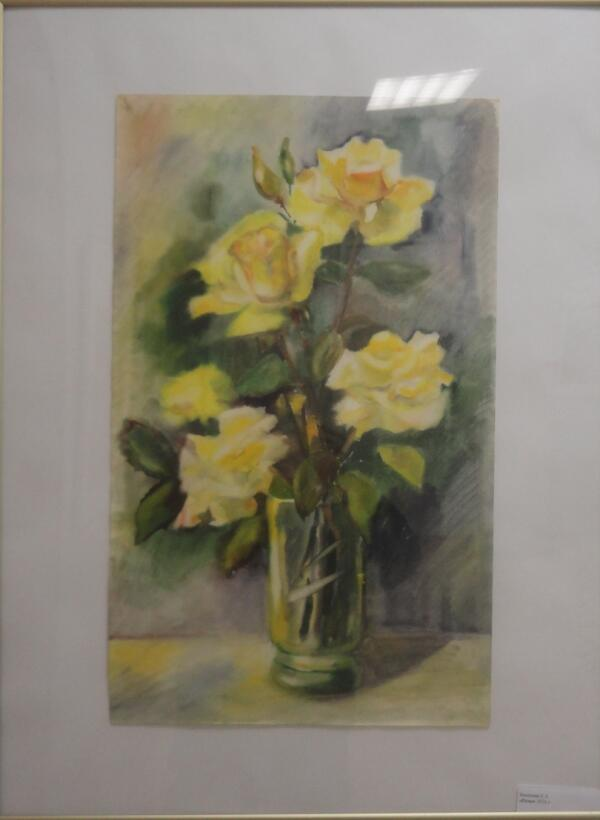Розы. Е. А. Веселова (Петрозаводск)