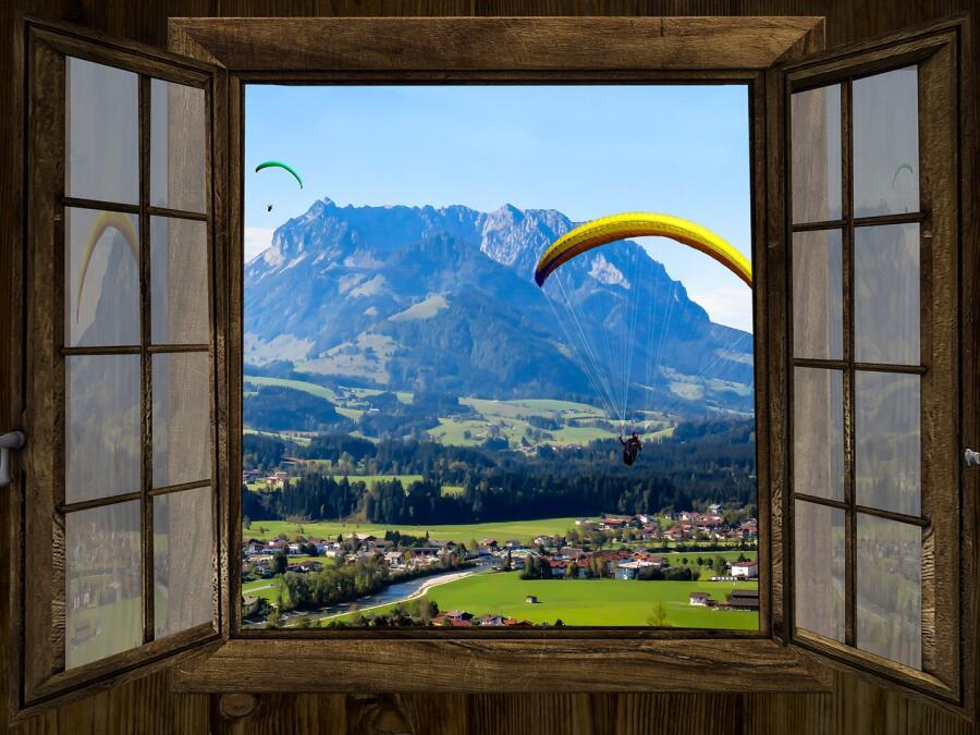Комната с видом на горы