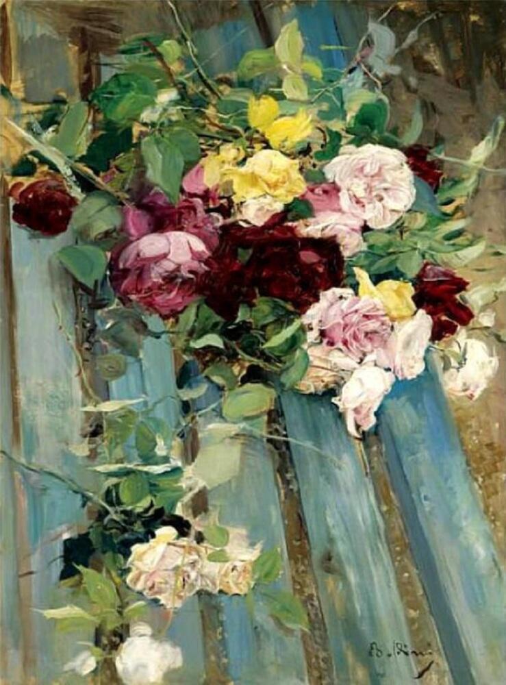 Джованни Болдини, Натюрморт с розами