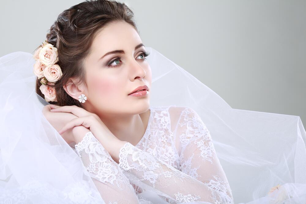 В день свадьбы невесте надо выглядеть красиво