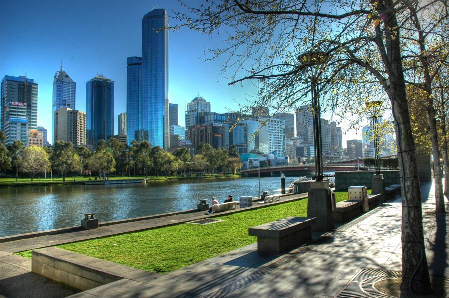 Весна в Мельбурне