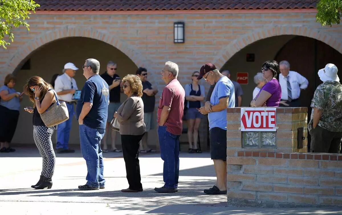 Как прошли финальные выборы в США? Репортаж с места события