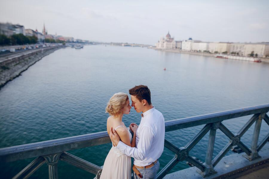 Свадебная прогулка по Будапешту