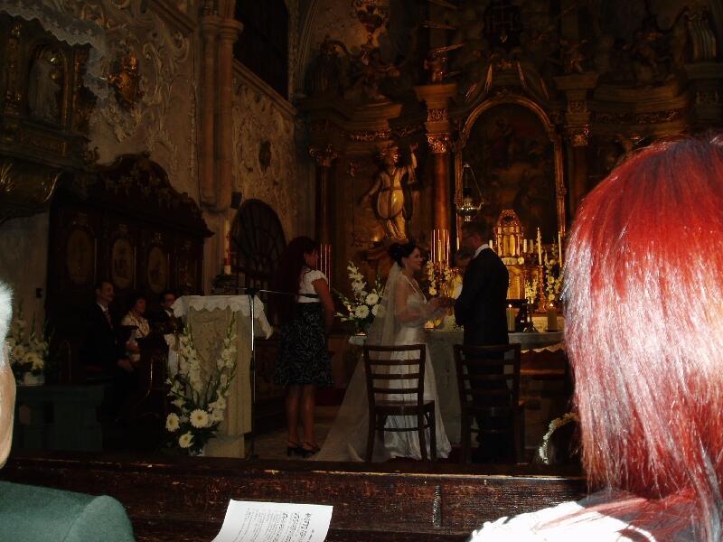 Таинство Венчания, молодые дают обет верности друг другу