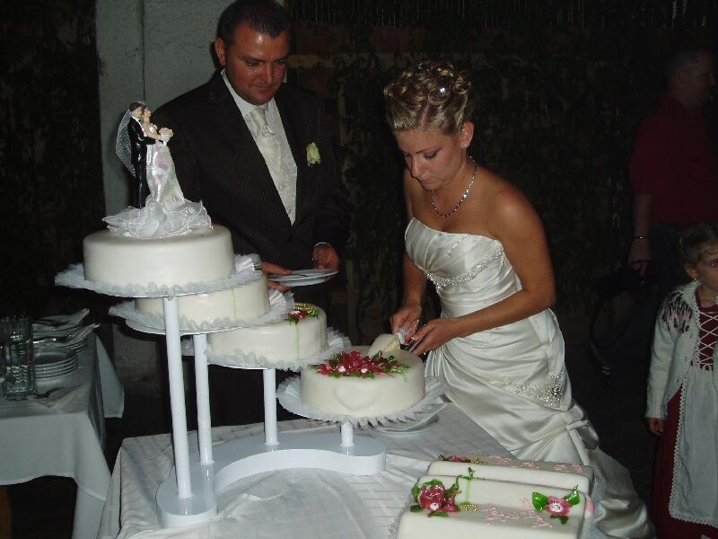 Свадебный торт. Символ плодовитости и семейного единства
