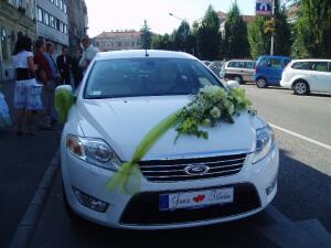 И какая свадьба без машины со СПЕЦномерами?!
