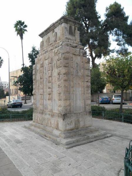 Кенотаф на площади Алленби в Иерусалиме