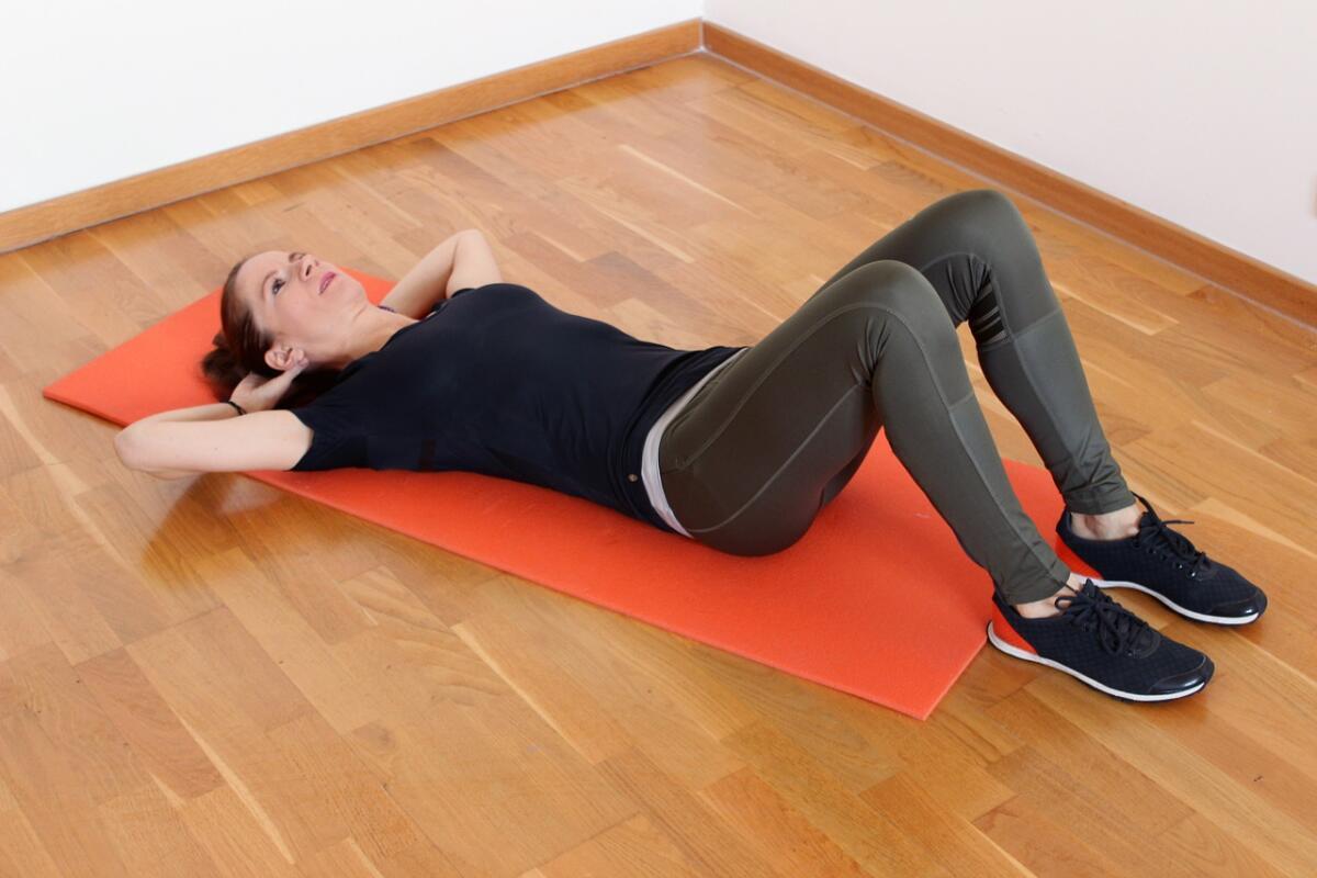 Возьмите за правило: 20 минут ежедневно заниматься физкультурой