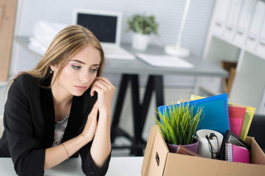 Что является самой частой причиной увольнения?