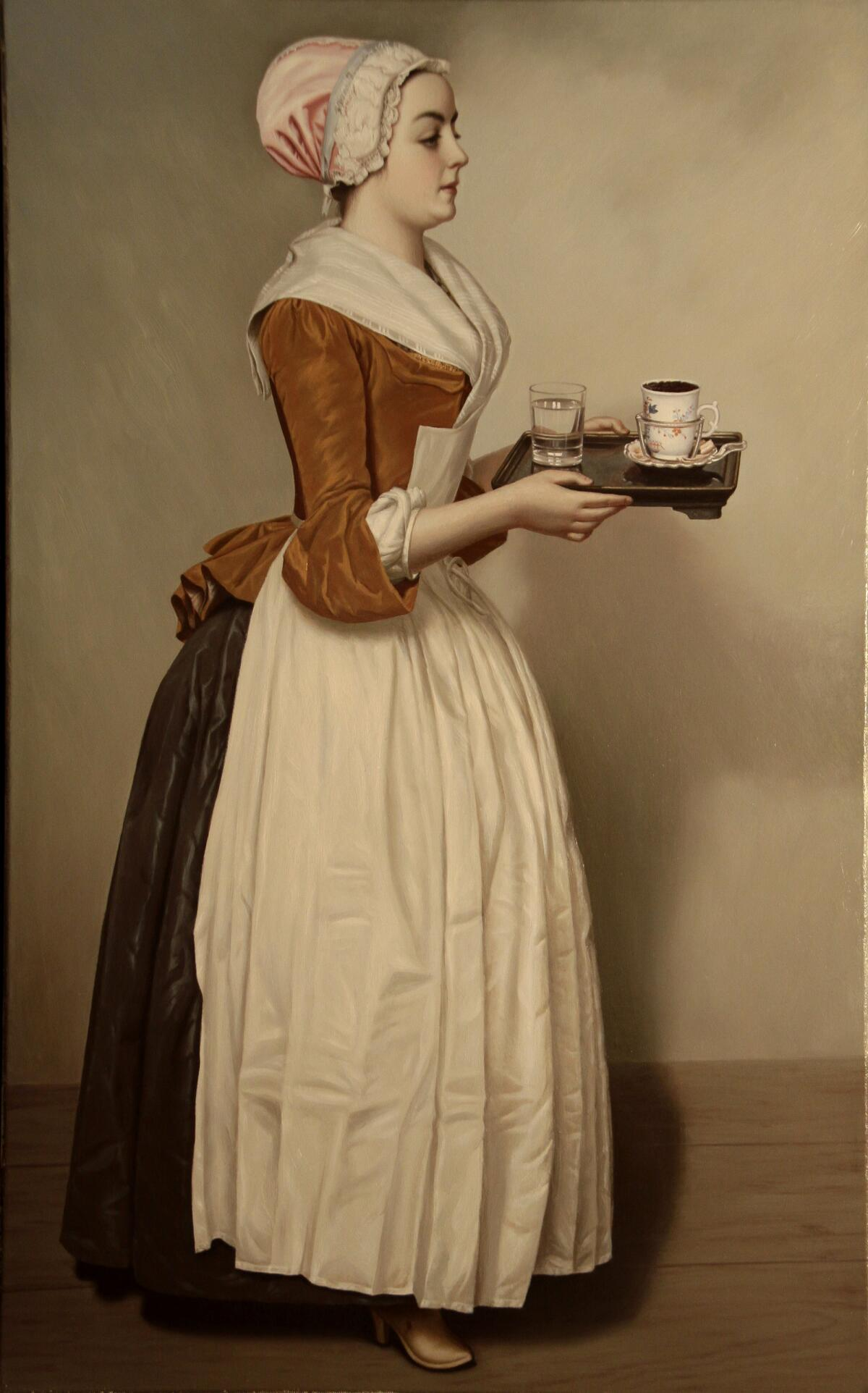Ж. Э. Лиотар, «Шоколадница», ок. 1743-1745 гг.
