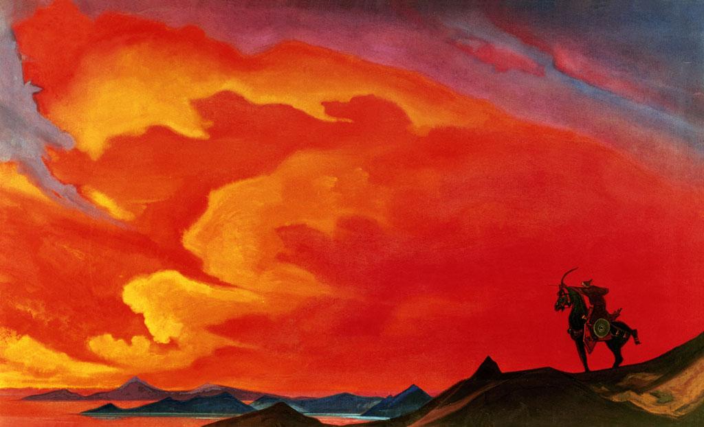 Н. Рерих, «Гэсэр хан», 1941 г.