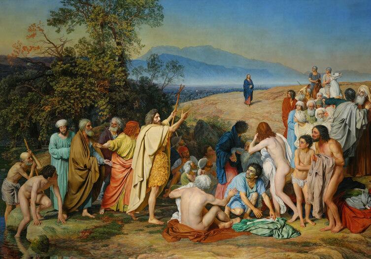 А. Иванов, «Явление Христа народу», 1837—1857 гг.