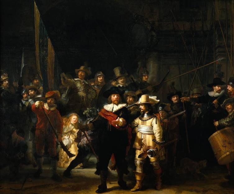Рембрандт, «Ночной дозор», 1642 г.