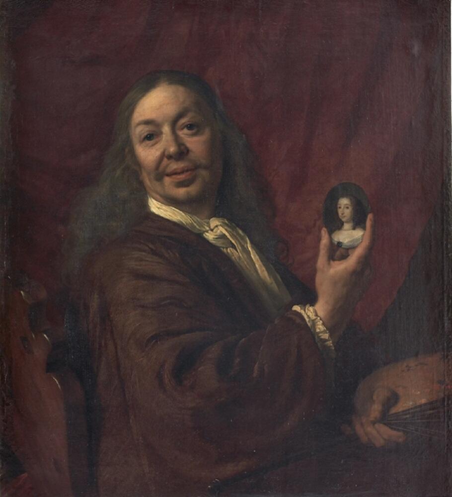 Бартоломеус ван дер Гельст, Автопортрет, 1667, галерея Уффици, Флоренция, Италия