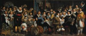 Бартоломеус ван дер Гельст, «Банкет по поводу заключения Мюнстерского мира». Что примечательного в этой картине?