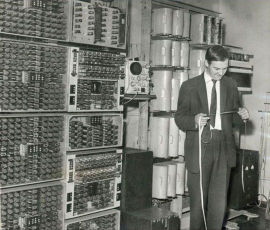 На заре компьютерной эры