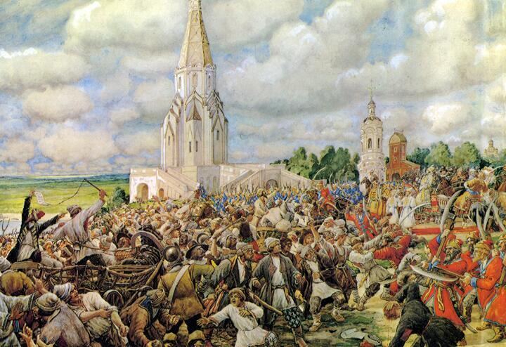 Э. Лисснер, «Медный бунт 1662 года», 1938 г.