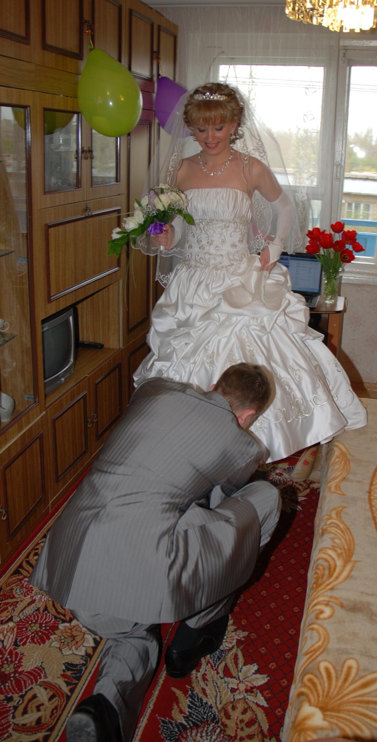 Как организовать веселый выкуп невесты?
